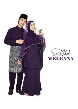 Set Couple Meleana Dark Purple – PLATINUM