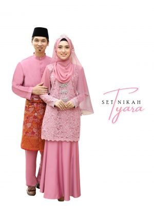 Set Couple Tyara Dusty Pink – PLATINUM