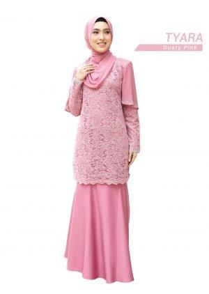 Kurung Tyara Dusty Pink