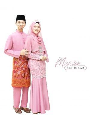 Set Couple Mawar Dusty Pink – TITANIUM