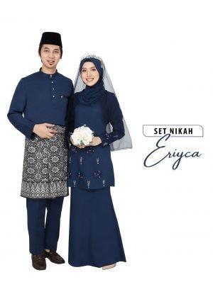 Set Couple Eriyca Navy Blue – TITANIUM