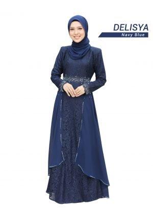 Dress Delisya Navy Blue