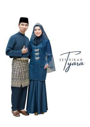Set Couple Tyara Navy Blue – PLATINUM