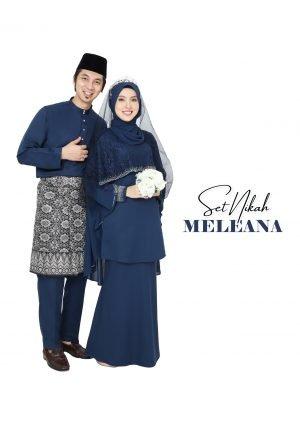 Set Couple Meleana Navy Blue – TITANIUM
