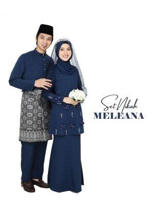 Set Couple Meleana Navy Blue – PLATINUM