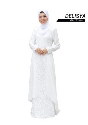 Dress Delisya Off White