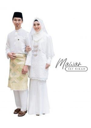 Set Couple Mawar Off White – TITANIUM