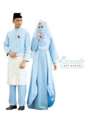 Set Couple Lareenda Baby Blue – GOLD