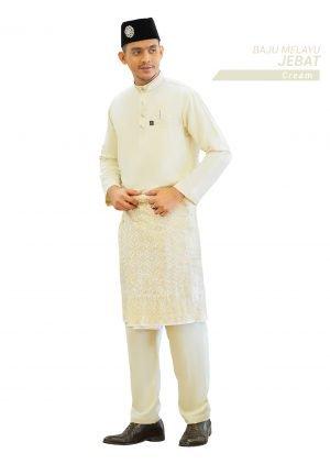 Set- Baju Melayu Jebat Cream