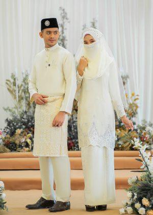 Set Couple Walinong Sari Cream – PLATINUM