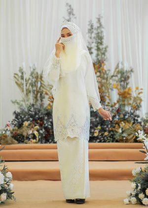 Songket Walinong Sari Cream