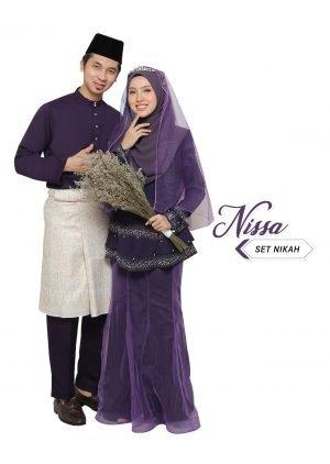 Set Couple Nissa Dark Purple – DIAMOND