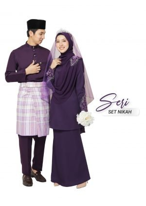 Set Couple Seri Dark Purple – PLATINUM