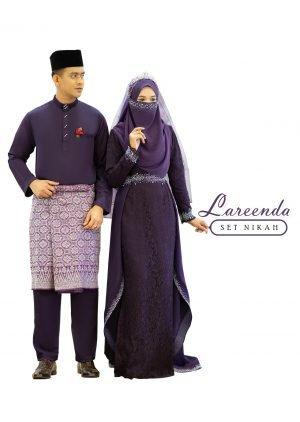 Set Couple Lareenda Dark Purple – PLATINUM