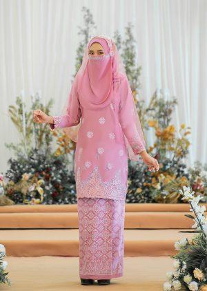 Songket Walinong Sari Dusty Pink