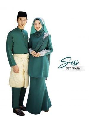 Set Couple Seri Emerald Green – PLATINUM