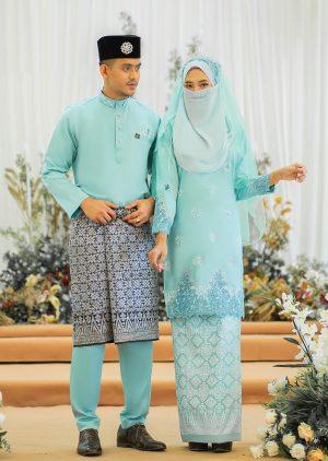 Set Couple Walinong Sari Mint Green – PLATINUM