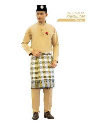 Set- Baju Melayu Panglima Mocha