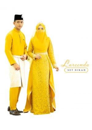 Set Couple Lareenda Mustard – GOLD