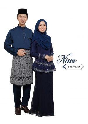 Set Couple Nissa Navy Blue – DIAMOND