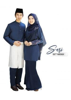 Set Couple Seri Navy Blue – PLATINUM