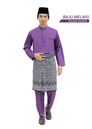 Set- Melayu Al-Habib Purple Keladi