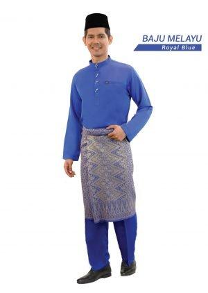 Set- Baju Baju Melayu Al-Habib Royal Blue