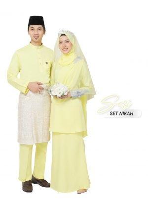 Set Couple Seri Yellow – PLATINUM