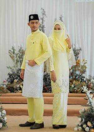 Set Couple Walinong Sari Yellow – PLATINUM