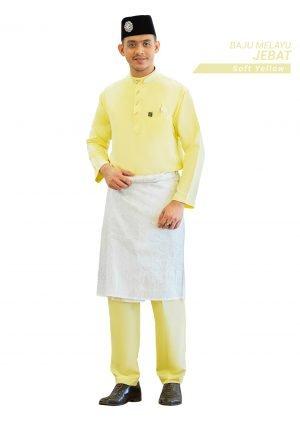 Set- Baju Melayu Jebat Yellow
