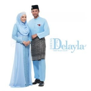 Set Couple Delayla Premium Baby Blue – GOLD
