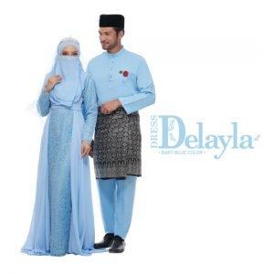 Set Couple Delayla Premium Baby Blue – TITANIUM