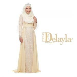 Dress Delayla Premium Delayla Cream