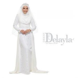 Dress Delayla Premium Off White